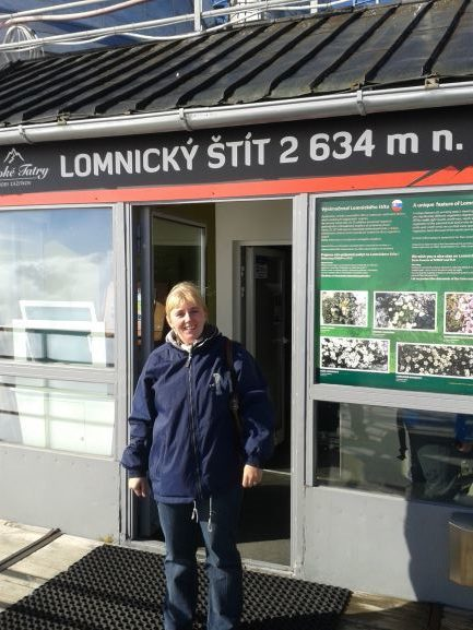 Lomnicky stit, Slovakia