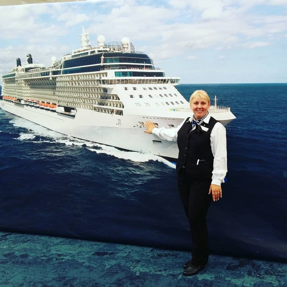 Customer service on cruise ship
