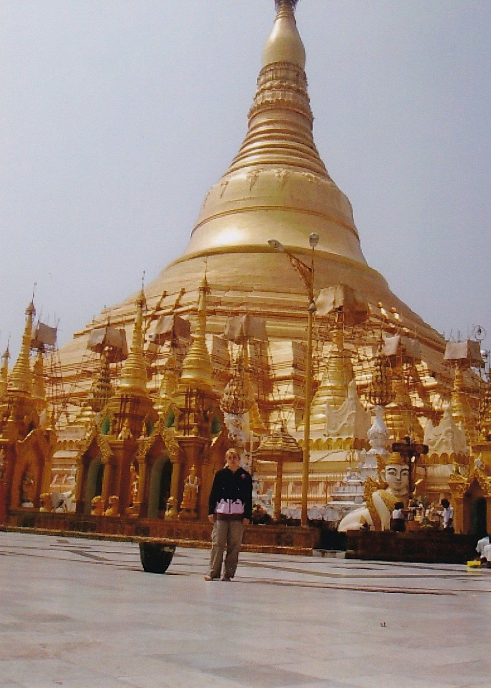 Shwedagon pagoda, Yangon - Myanmar , World of Linda