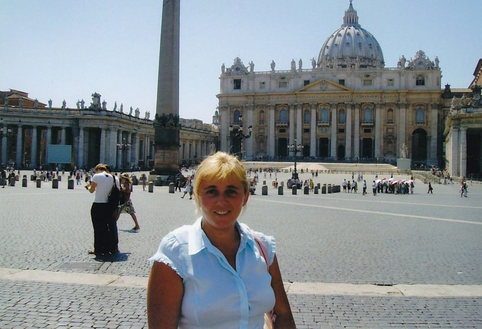 St. Peter square - Vatican, World of Linda
