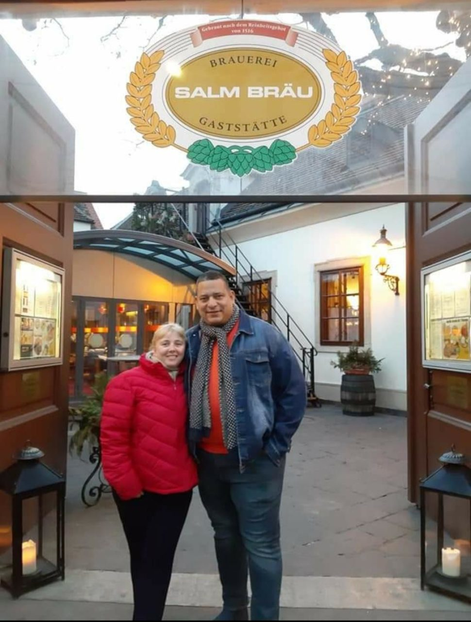 Wien - Austria ,Salm Brau